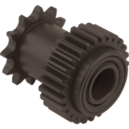 TS651 gear and sprocket